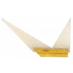 Escuadra de TRIPLE ángulo 90º-60º-45º