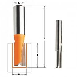 Fresa de corte recto para canales de 13 mm. y mango de 8 mm.