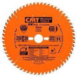 Sierra circular ultra-delgada para cortes tranversales de 300 x 30 mm. eje