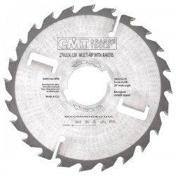 Sierra circular para maquina múltiple especial maderas húmedas de 300 x 70 mm. eje con 6 dentones