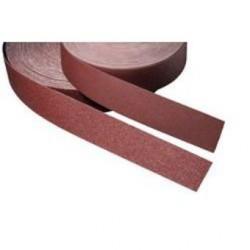 Rollo 25 metros de lija en tela flexible de 50 ancho grano 80