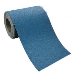 Rollo 25 metros lija en tela CIRCONIO para lijadoras de suelos de 300 mm. grano 80