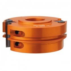 Cabezal para juntas paralelas y maderas hasta 40 mm. con 30 eje