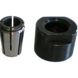 Pinza con tuerca de 10 mm. adaptable a fresadoras CMT8E , CMT7E y TRITON TRA001