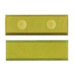 Cuchilla reversible de 30 x 10 x 1,5 y 4 cortes con aleación de TITANIO