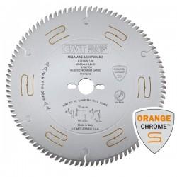 Sierra circular 250 mm. CROMADA y SILENCIOSA para el corte perfecto sin incisor de tableros y aglomerados