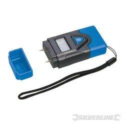 Detector digital de la humedad de la madera y otros materiales