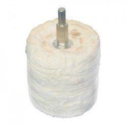 Cilindro de pulido en algodón de 38 mm. adaptable a taladro