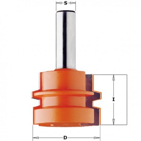 Fresa para ensambles paralelos de 15 a 30 mm.
