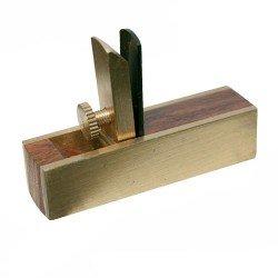 Mini-cepillo cuchilla corte plano para raspar de 76 mm.