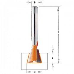 Fresa para la realización de lazos de 6 mm. y con mango de 6 referencia 718.060.11