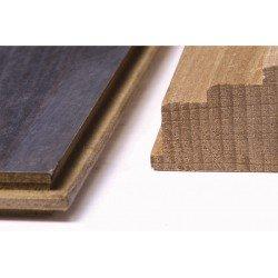 Taco de madera para el montaje de laminado