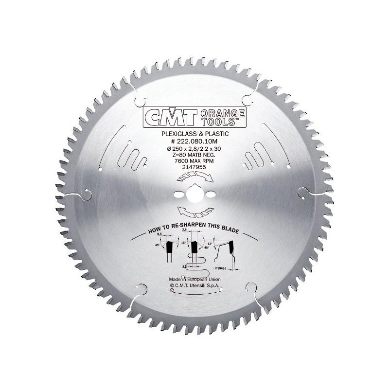 Sierra circular de 250 mm para el corte de materiales - Sierra de corte circular ...