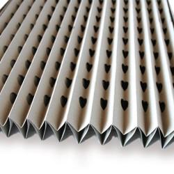 Caja de filtro cartón de 1.000 x 8.000 mm. para cabina barnizar