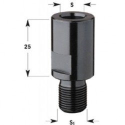 Reductor rosca de M-12 a M-10