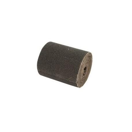 Rollo de lija malla abrasiva 115 ancho gr. 60 para lijado superficies sucias