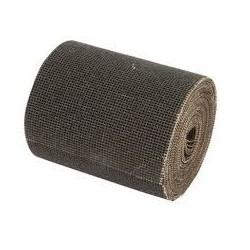 Rollo de lija malla abrasiva 115 ancho gr. 80 para lijado superficies sucias