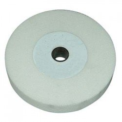 Muela plana para el afilado de herramientas en CORINDOM blanco de 150 x 40