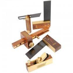 Juego de mini-herramienta manual de 5 piezas con estuche