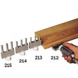Boquilla triple para el encolado de espigas de 8 mm. referencia 213