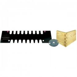 Molde para la realización colas milano abiertas de 19 mm. referencia CMT300-T190