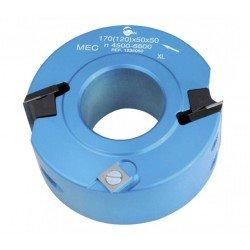 Portacuchillas multiples usos de 100 x 30 eje para cuchillas moldurar de 40x4, 50x4 y 50x5,5 mm.