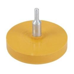 Rueda de goma quita-adhesivos a utilizar con taladro