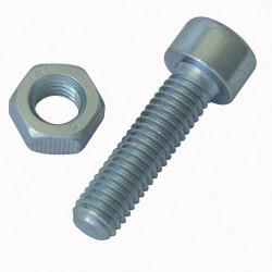 Estuche surtido tornillos cabeza hexagonal tuercas y arandelas para metales