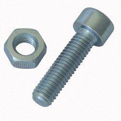 Estuche surtido 450 tornillos galvanizados para metales