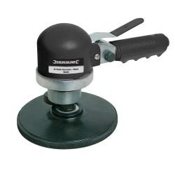 Lijadora rotorbital neumática con plato de 150 mm.
