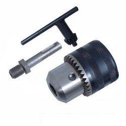 Kit adaptador y portabrocas con llave SDS Plus