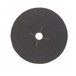 Disco de lija soporte poliéster 180 mm. grano 36