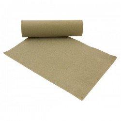 10 pliegos de lija grano 240 en óxido de aluminio de 230 x 280 mm.