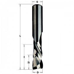Fresa Helicoidal corte positivo + negativo de 8 x 32 largo corte mango 6