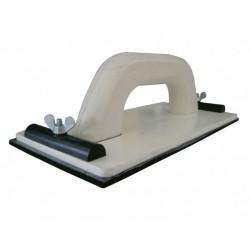 Soporte para lijar de 115 x 280 mm.