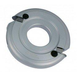 Portacuchillas para 1/2 circulo radio 8 mm. de 140 x 50 eje
