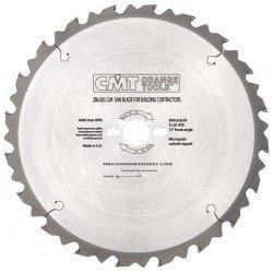 Sierra circular con limitador de corte de 350 mm. con 30 eje