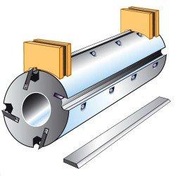 Juego reguladores magneticos de cuchillas para ejes de 95 mm.