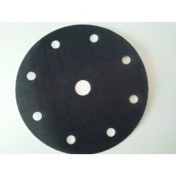 Adaptador adhesivo para bases de velcro de 125mm. y 8 + 1 agujeros