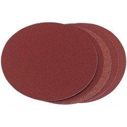 Paquete 10 discos de lija 180 mm. para madera grano 120 con soporte velcro