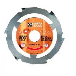 Sierra circular corte madera y pvc a utilizar con amoladoras de 125 mm.