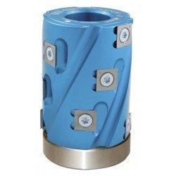 Cabezal copiador de 80 mm. altura para tupí con eje 30 mm.