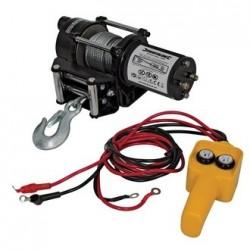 Cabestrante eléctrico a 12 V. hasta 909 Kg. de arrastre
