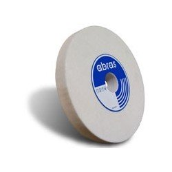 Muela plana para el afilado de herramientas en CORINDOM blanco de 150 x 30