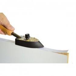 Plancha especial para el canteado de paneles y tableros