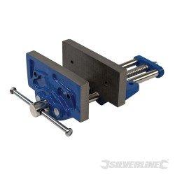 Tornillo para banco de carpintero fijo de 150 mm. modelo 54006
