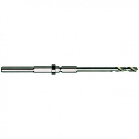 Broca HSS husillo para coronas CMT multiuso de 20 a 30 mm.
