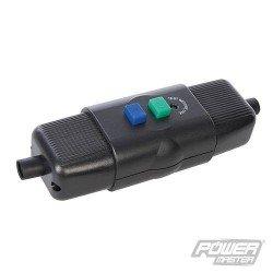 Interruptor con bobina de seguridad para protección en maquinas o motores monofásicos de hasta 3 Hp.