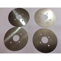 juego laminas regulación incisor de 120 o 125 mm. con 20 eje