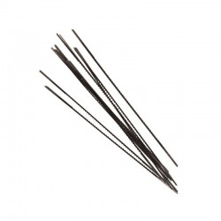 Paquete 12 hojas sierra marqueteria sin gancho 130 mm. 13 TPI